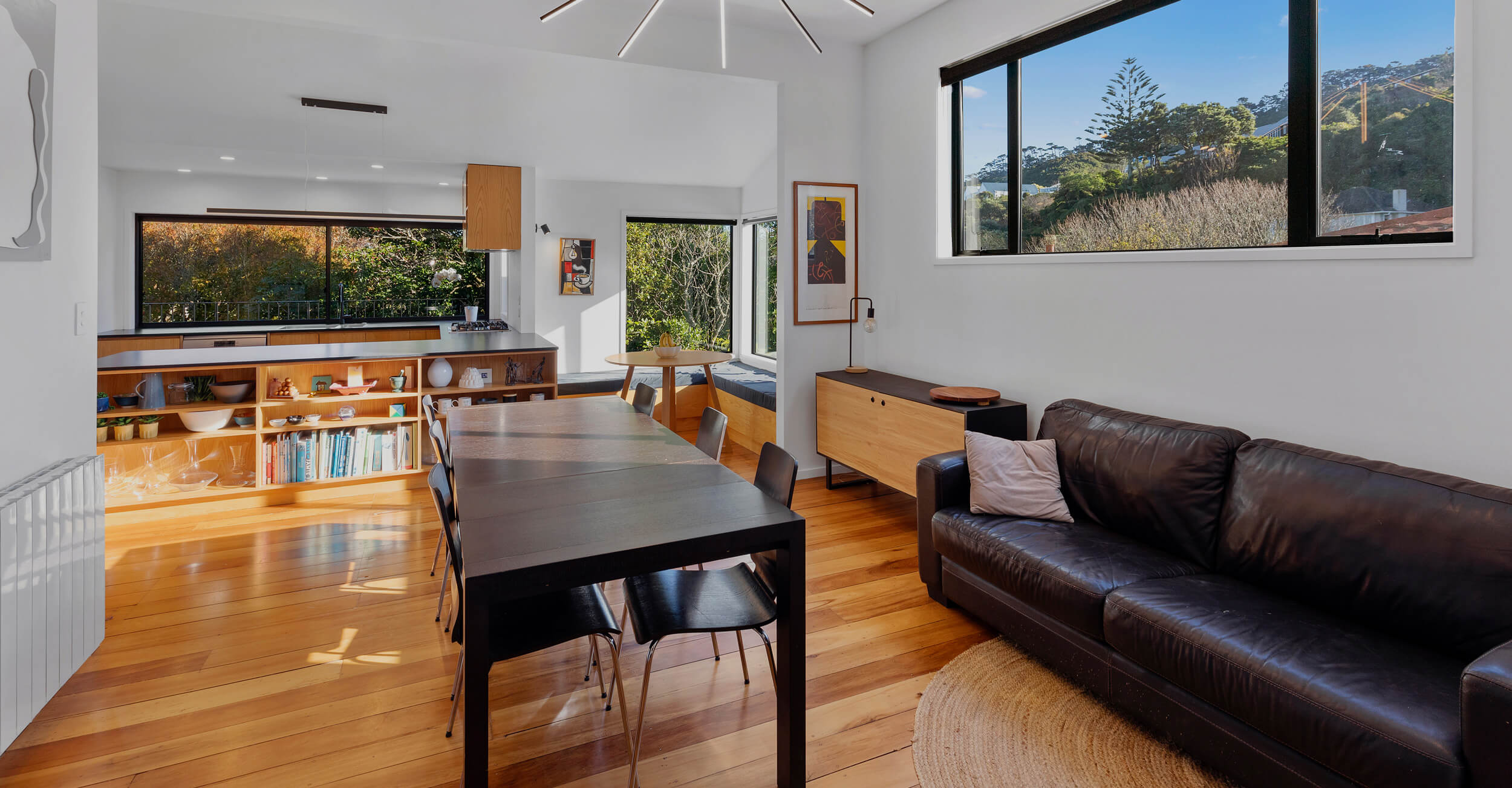 home renovation living area